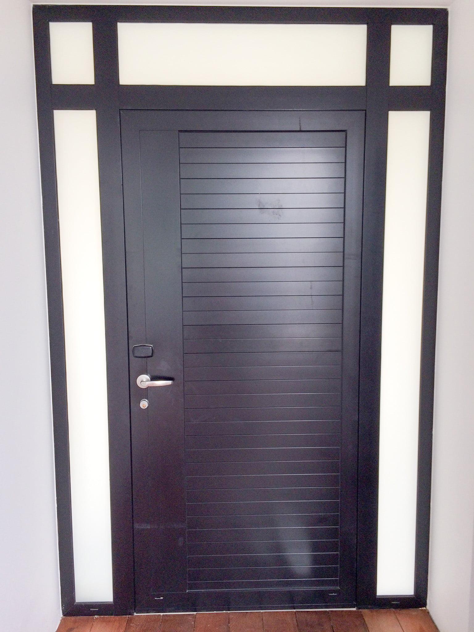 porte aluminium ads 50 schuco alubat menuiserie aluminium guyane. Black Bedroom Furniture Sets. Home Design Ideas